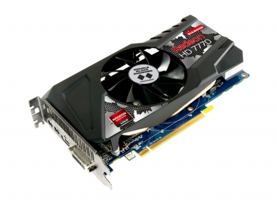 Radeon HD 7770 GHZ Edition Dual Fans 1GB