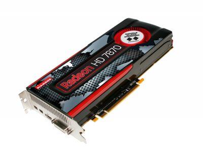 Radeon HD 7870 GHZ Edition Double Black  2GB