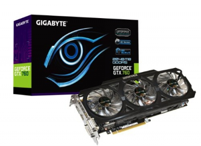 GTX 760 OC Windforce 3X 2GB