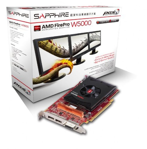 Max Monitors SAPPHIRE AMD FirePro W5000? [SOLVED] - The World's Best