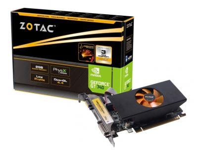 GT 740 2GB DDR3 LP (ZT-71006-10BB)