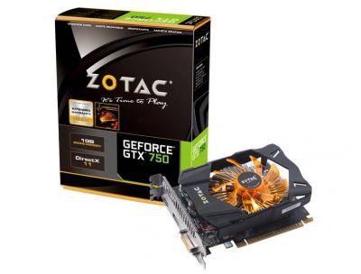 GTX 750 1GB (ZT-70706-10M)
