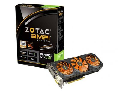 GTX 770 AMP! Edition Triple Fan 2GB (ZT-70309-10P)