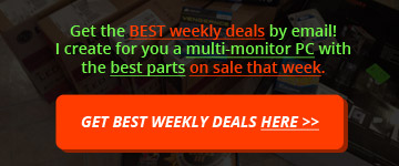 Get latest Multi-Monitor Computer deals by email each week