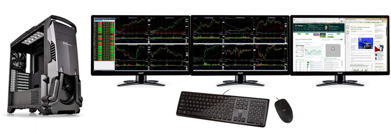 "Best Value & Speed 3-Monitor (24"") Computer - January 2017"