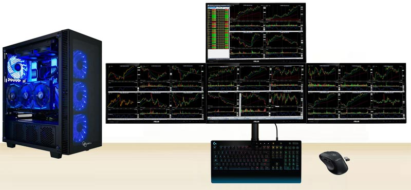 "Best Value & Speed 4-Monitor (24"") Computer - March 2021"