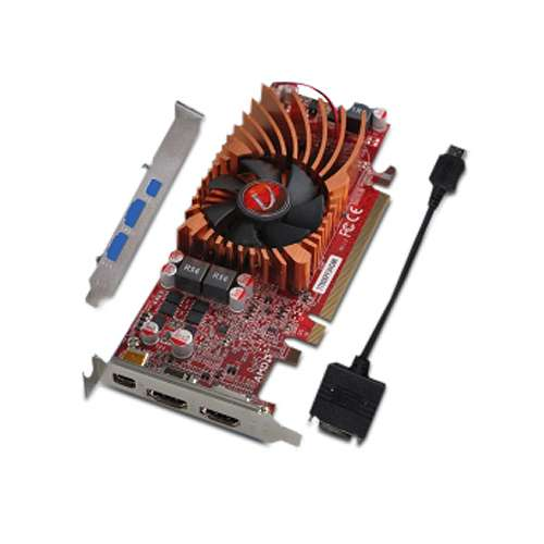 3 monitor video card: Radeon HD 7750
