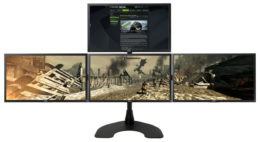 Geforce 4-Monitor Surround one video card